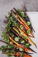 Honey and Soy Roasted Carrots