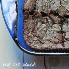 Fudgy Mocha Mint Brownies