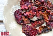 Chili Roasted Beet Chips