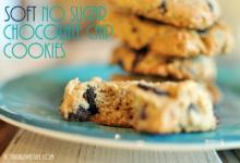 Soft No Sugar Chocolate Chip Cookies
