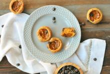 Dark Chocolate Pumpkin Pie Bites