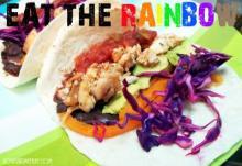Rainbow Fish Tacos