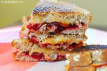 Buffalo Cranberry Grilled Cheese