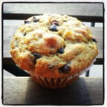 Health(ier) Banana Chocolate Chip Muffins