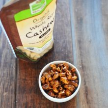 Ginger Spiced Cashews