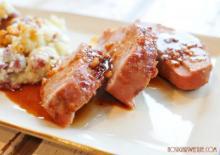 Honey Ginger Pork Tenderloin