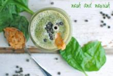 {Reese's Spinach Smoothie}