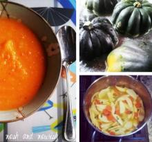 Squash, Carrot & Apple Soup