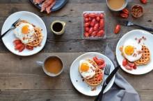 Roasted Tomato Waffles