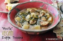 {*Mostly* Vegan Zuppa Toscana}