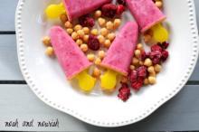 Vanilla Raspberry Creamsicles
