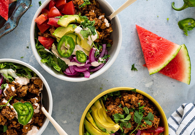 walnut taco meat with tempeh