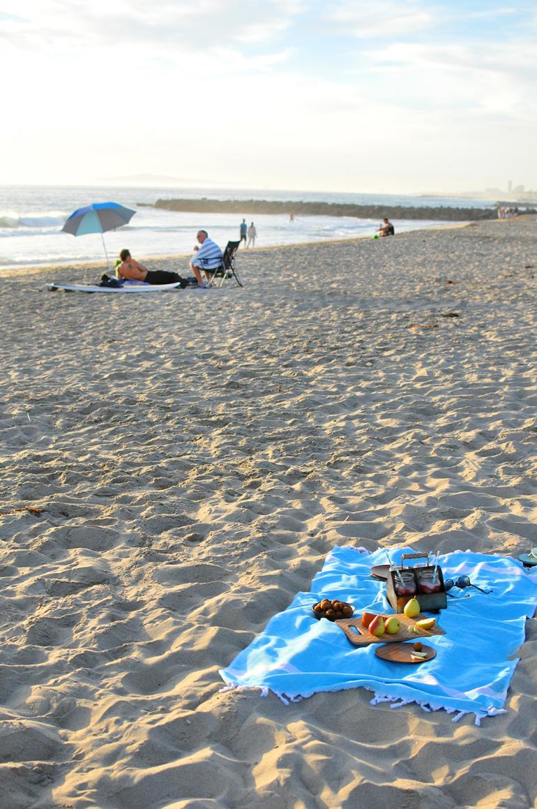 beach picnic newport beach california