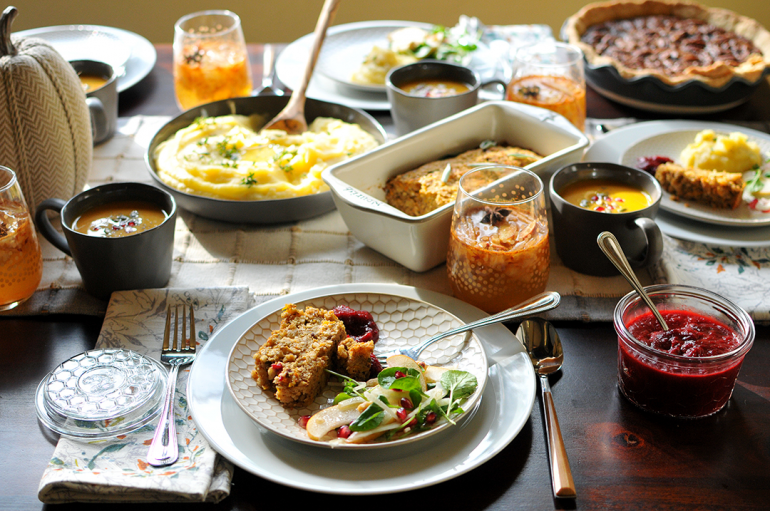 plantsgiving how to host a vegan thanksgiving