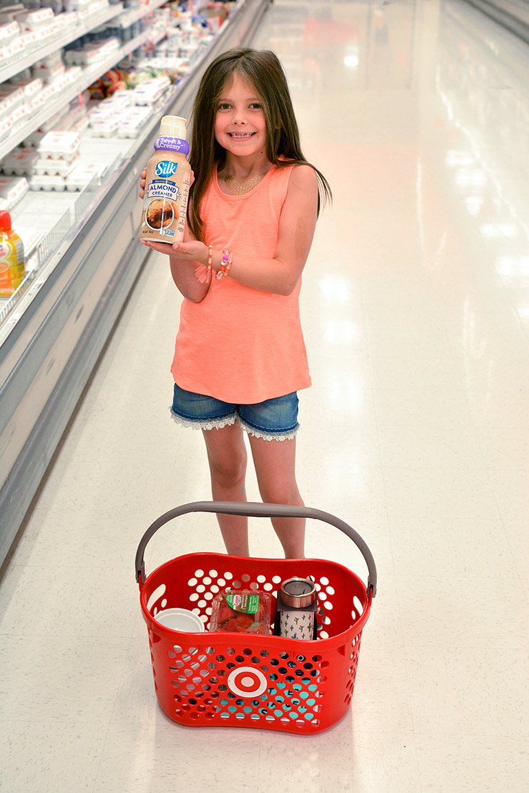 babycakes shopping at target