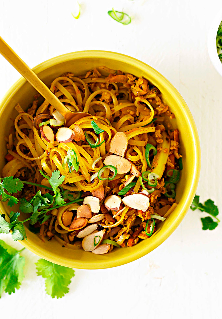 curry rice noodles
