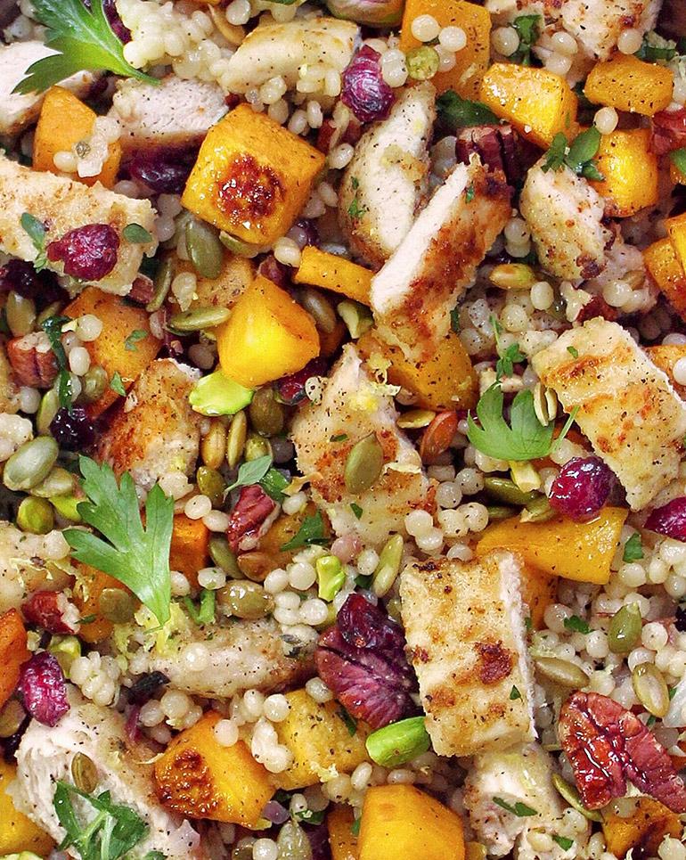 harvest couscous salad