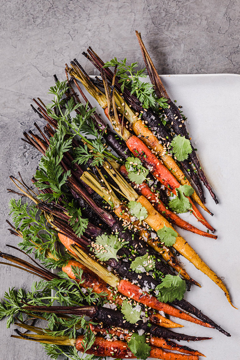 roasted carrots chef daniela gerson