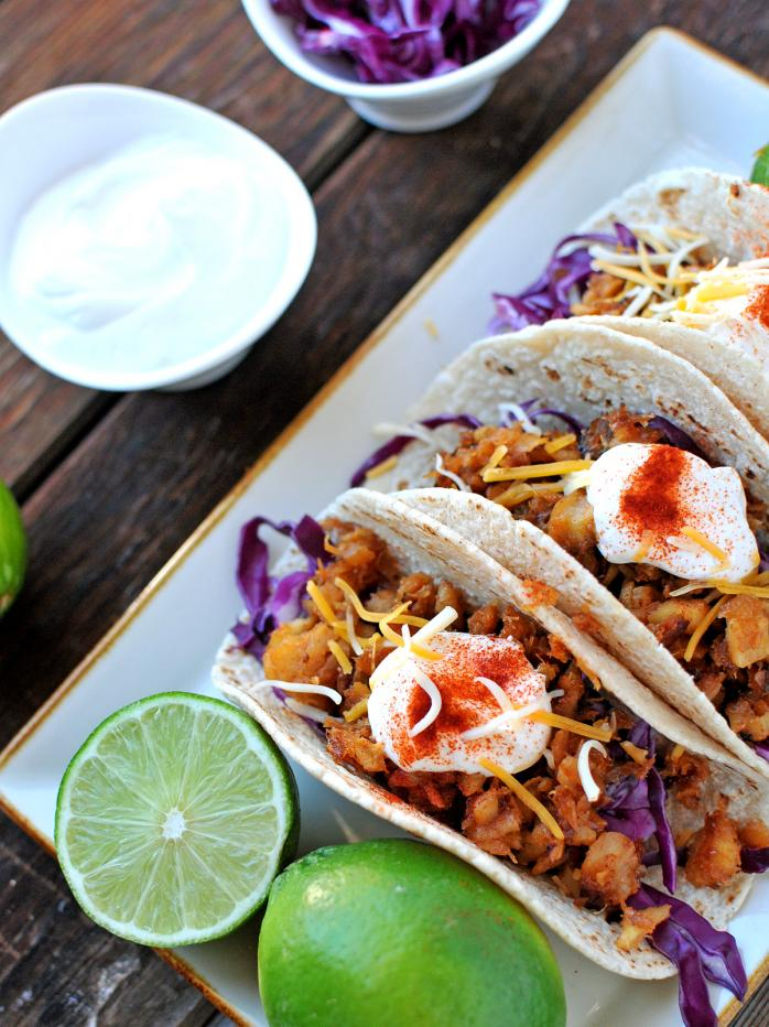 Superfoods at every meal sneak peek giveaway nosh and for Fish taco sauce yogurt
