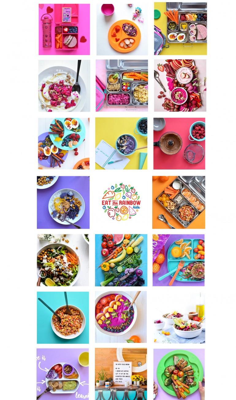 IG Eat the Rainbow - Kids Logo Reveal