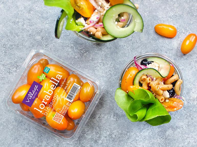 greek chicken mason jar salads