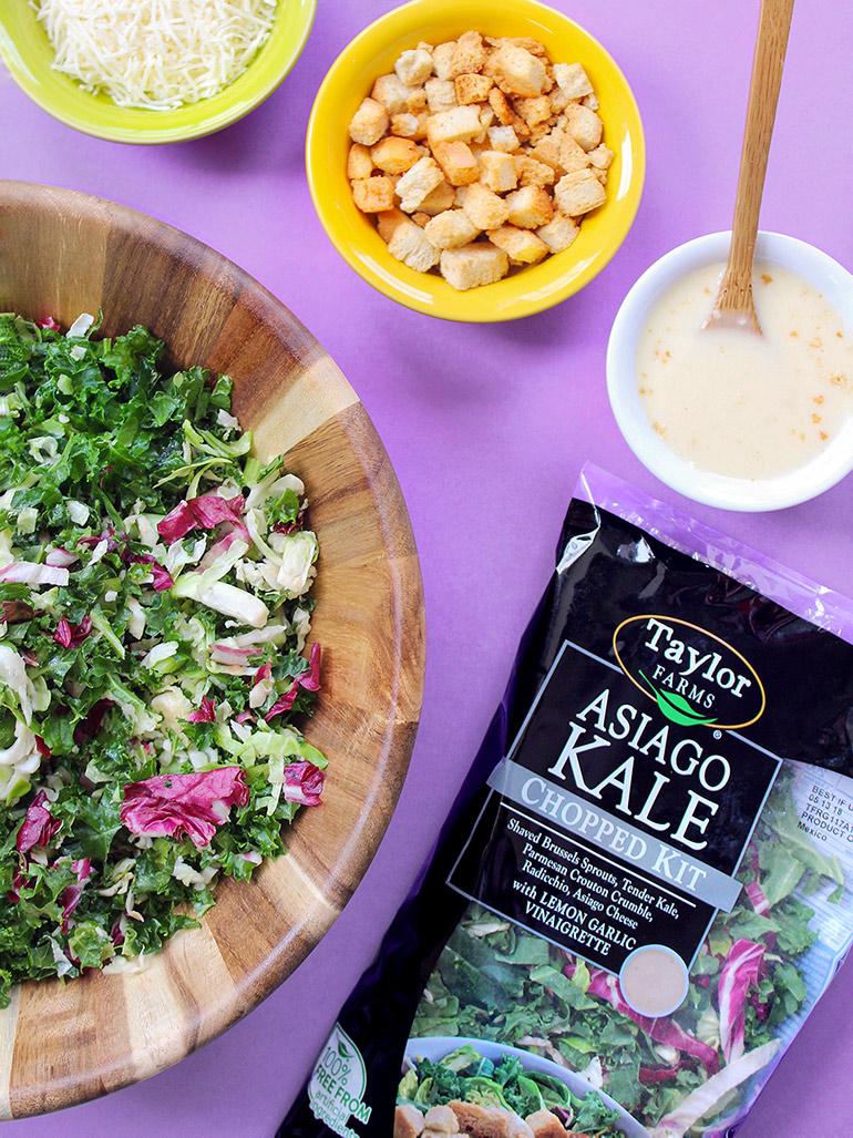 taylor farms asiago kale chopped salad kit