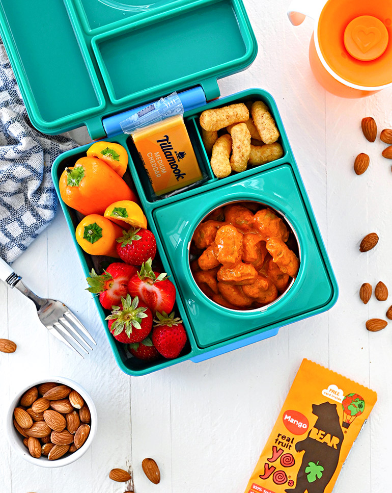 easy gnocci in the lunchbox
