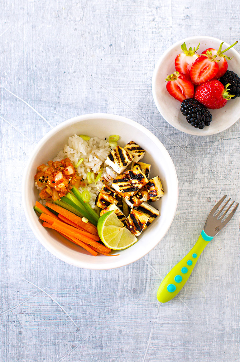 tofu taco bowl for kids