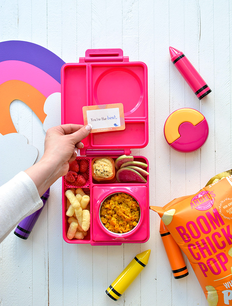 angies boomchickapop in a lunchbox