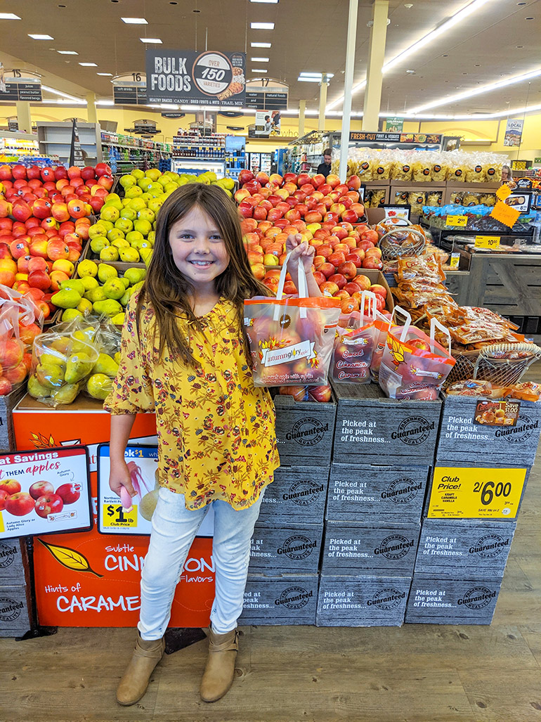 autumn glory apples in grocery stores