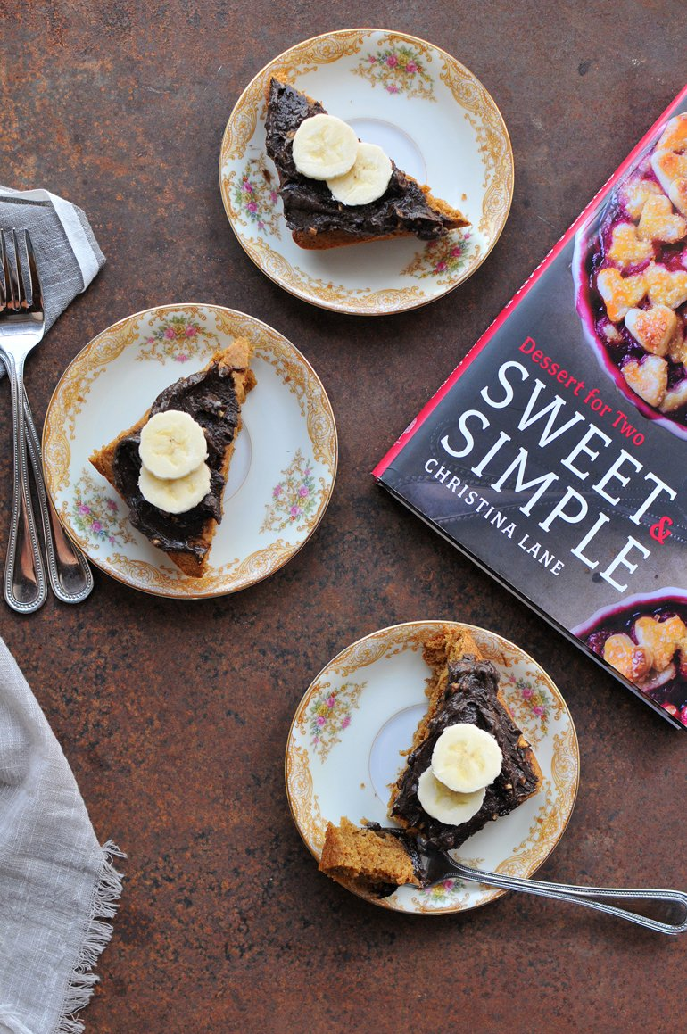 banana cake from Sweet and Simple cookbook