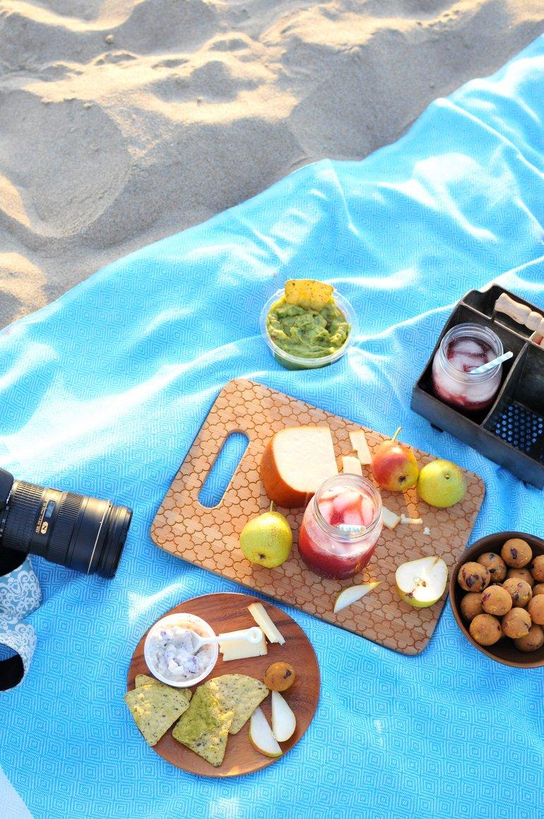 pumpkin cookie dough beach picnic
