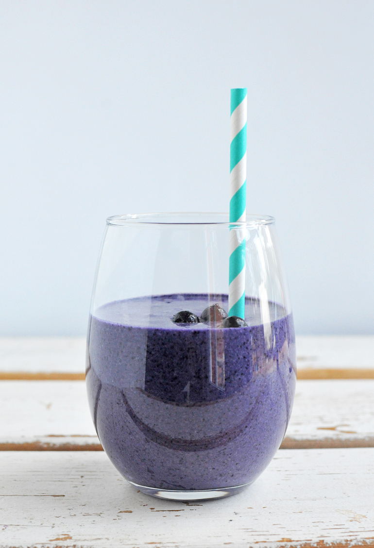 blueberry muffin smoothie single cup