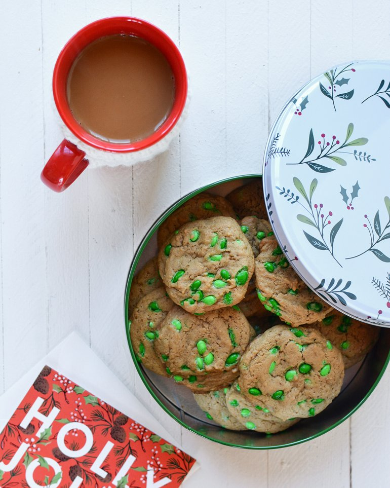 holiday cookies with sunflower seeds