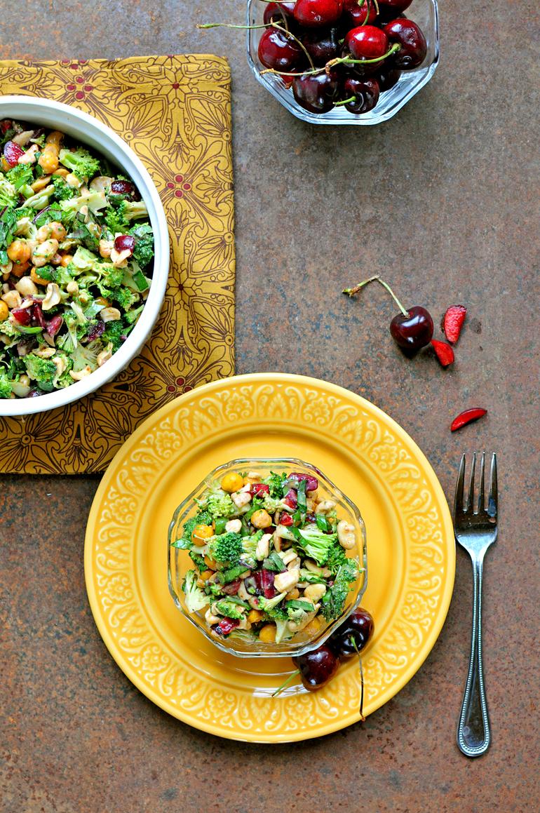 broccoli cherry salad