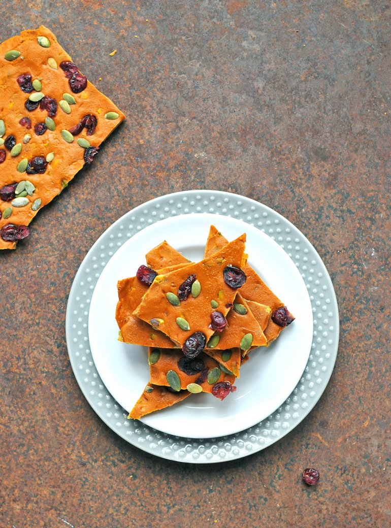 butterscotch pumpkin bark