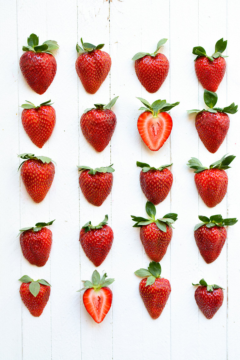 california strawberries get snacking