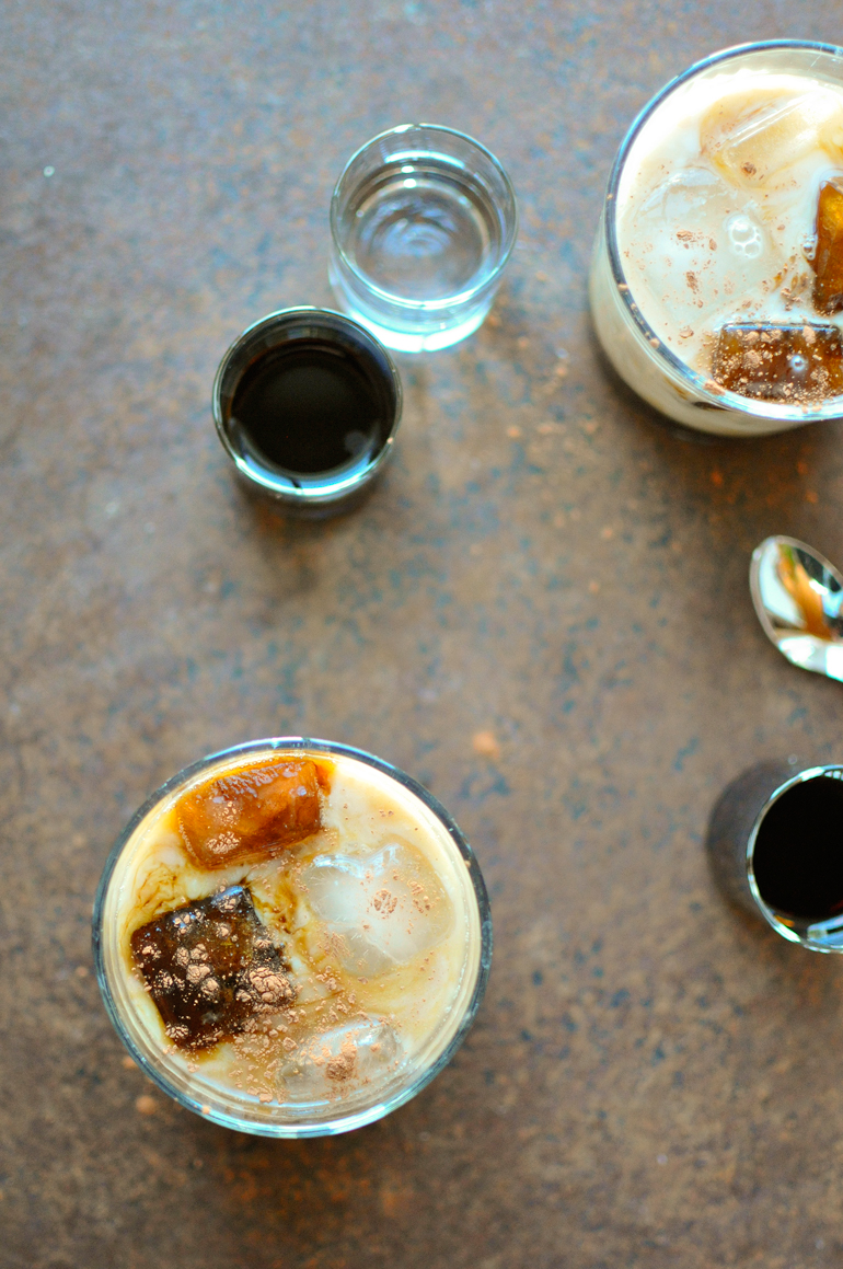 caramel white russian above