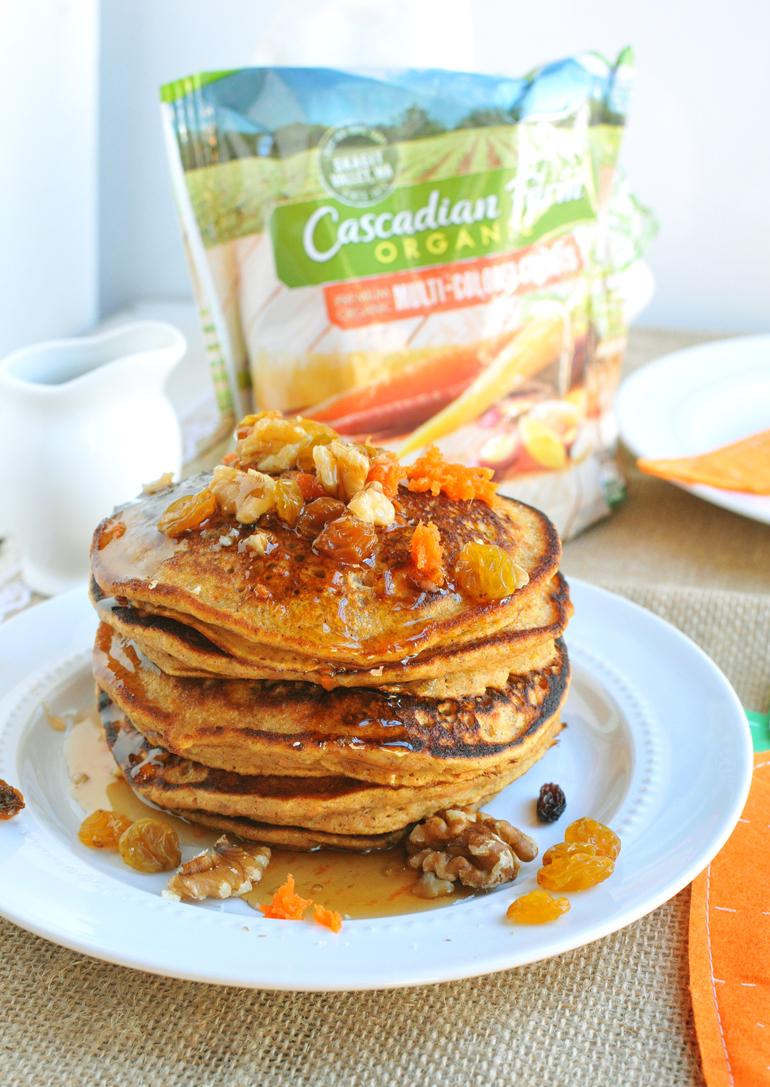 cascadian farm carrot cake pancakes
