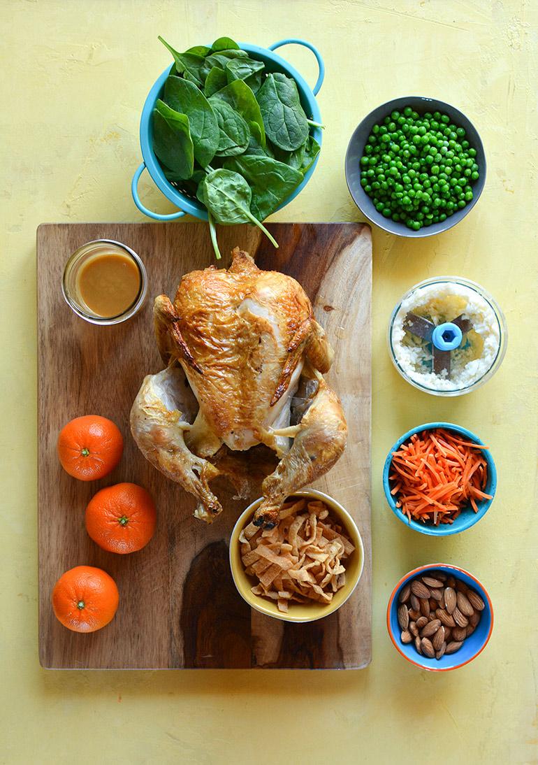 orange chicken salad ingredients
