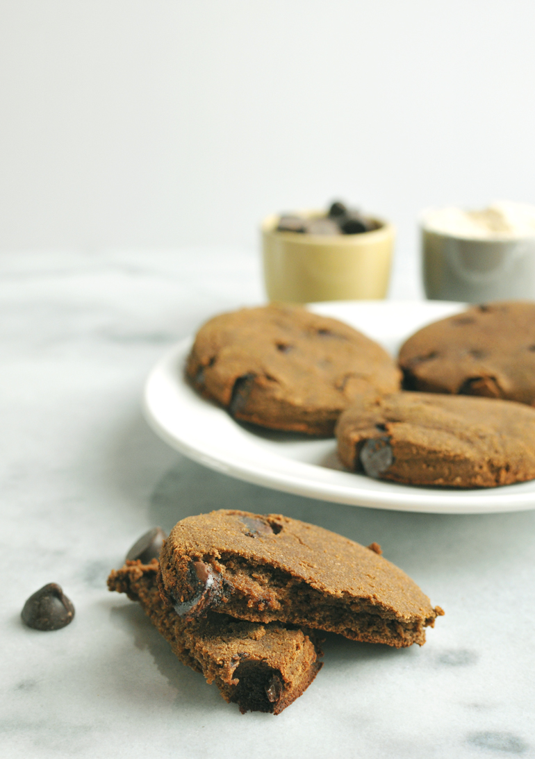 coconut cloud chocolate cookies paleo
