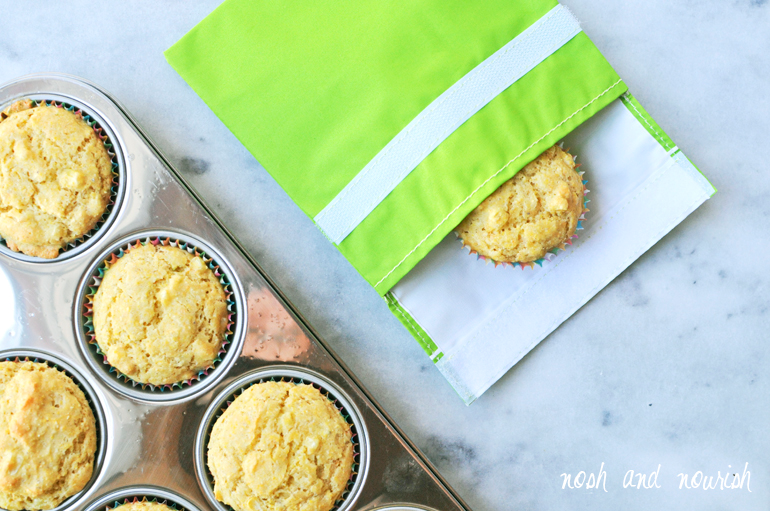cornbread muffins with mightynest lunchskin