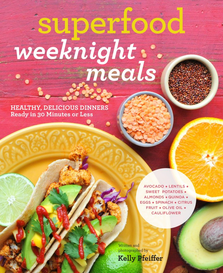 Superfood Weeknight Meals, cover