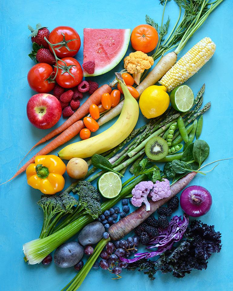 eat the rainbow nosh and nourish