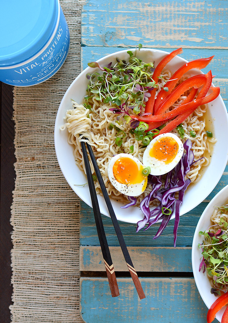 fancy ramen noodle bowls with vital proteins