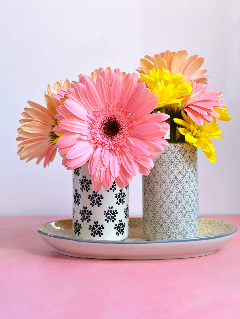 beautiful summery flowers