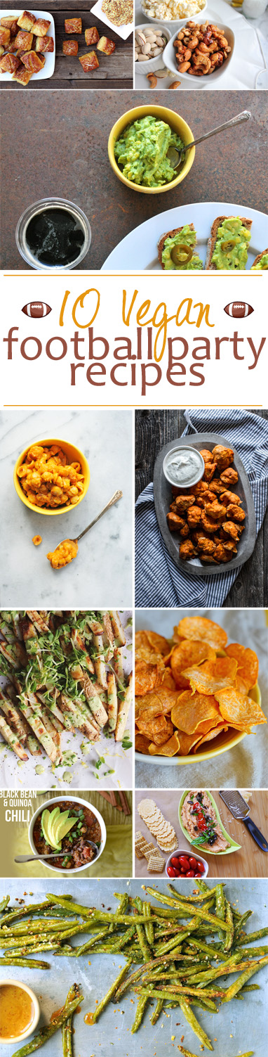 10 delicious vegan football party recipes