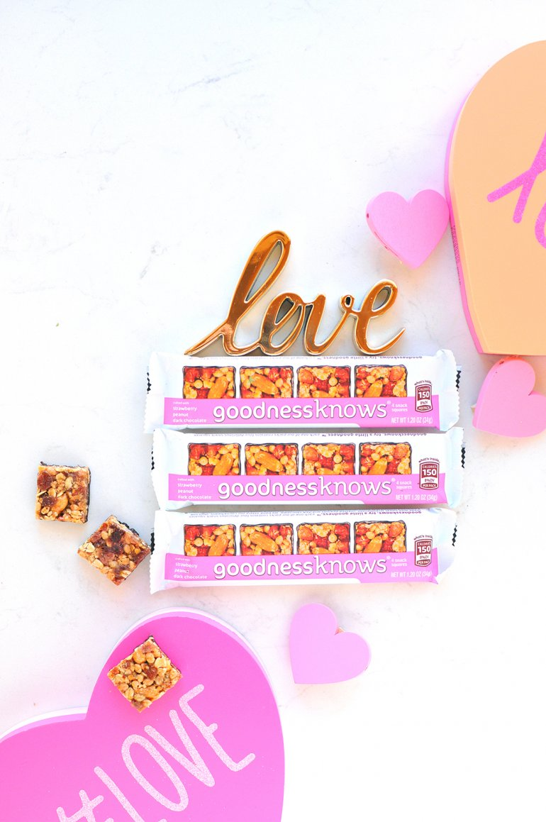 goodness knows snack squares in love