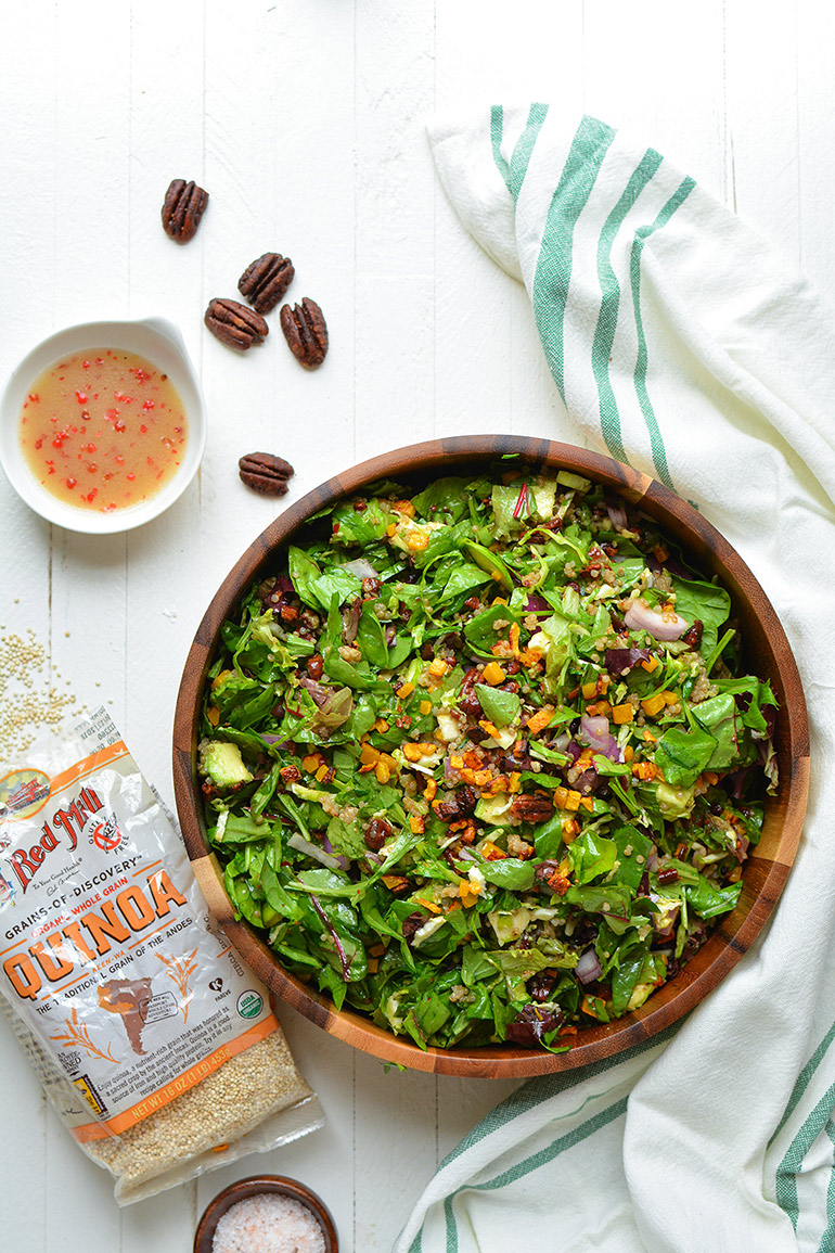 autumn chopped salad bob's redmill