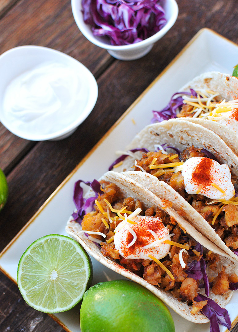 honey sesame fish tacos with horizon organic